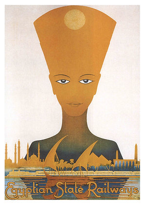 Egyptian Travel Advertisement