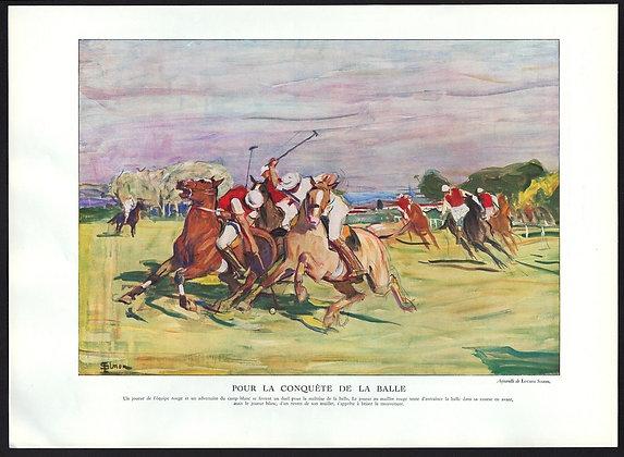 Vintage French Magazine Image