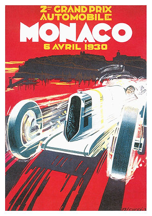 French Grand Prix Advertisement