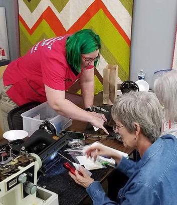 learn to repair sewing machines