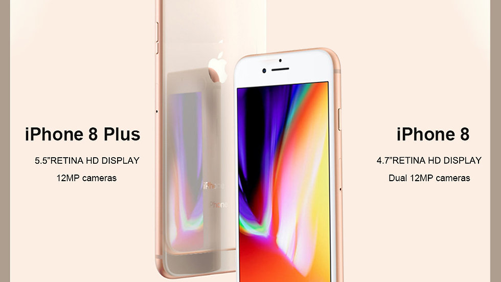 Unlocked New Original Apple iPhone 8/8 Plus