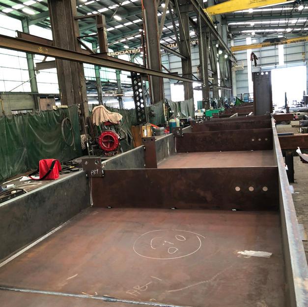 Steel fabrication inspection