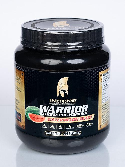 Spartasport Warrior Pre Workout Mix - Watermelon Blast Flavour 570g (1.25 lbs)