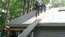 How to Safely Install a Metal Roof