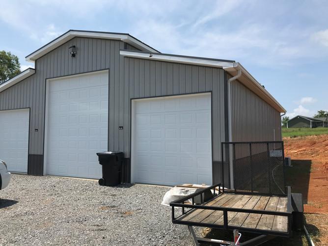 American style pole barn