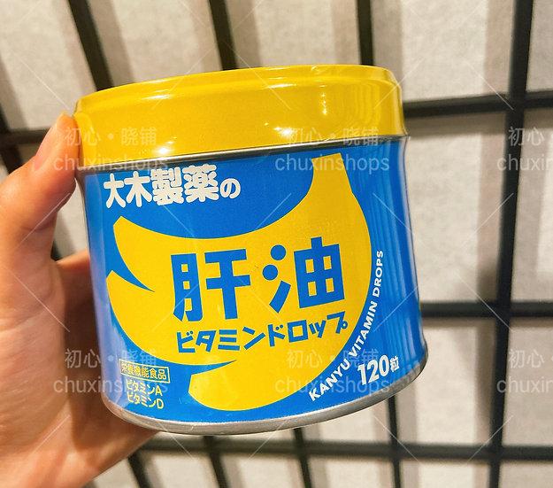 大木制药肝油维生素软糖