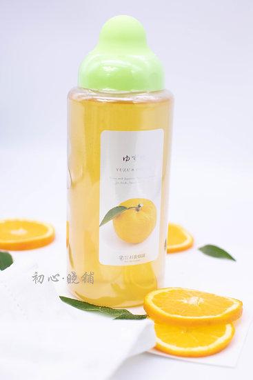 杉养蜂园柚子果汁蜂蜜