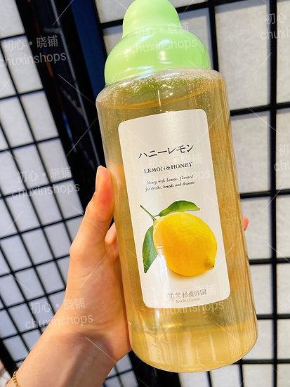 杉养蜂园柠檬果汁蜂蜜