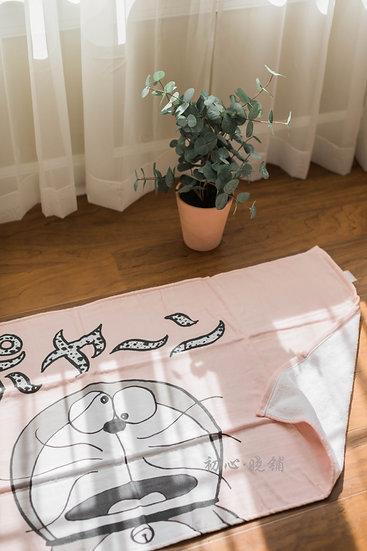哆啦浴巾50周年限量版