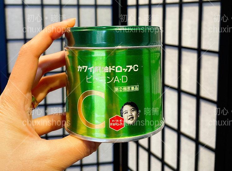 Kawai鱼肝油AD+C