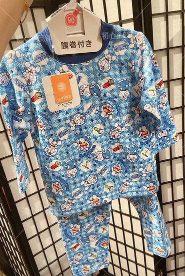 日本哆啦儿童护肚睡衣睡裤 90cm