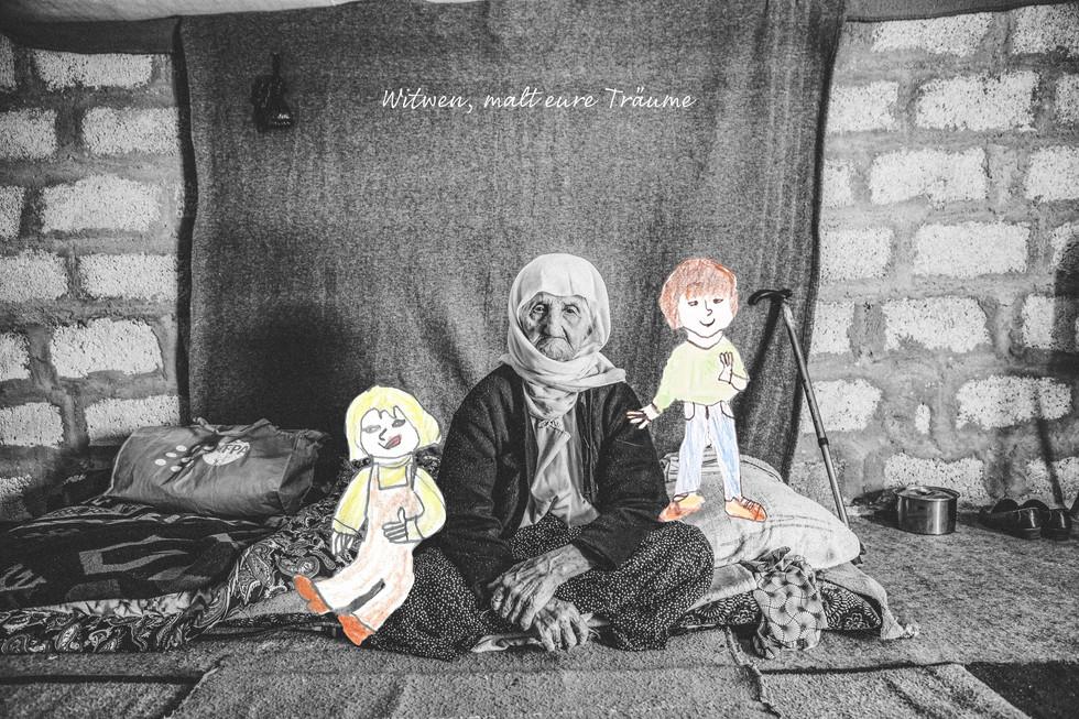 Ewin (98) verlor ihre Kinder durch den Islamischen Staat.