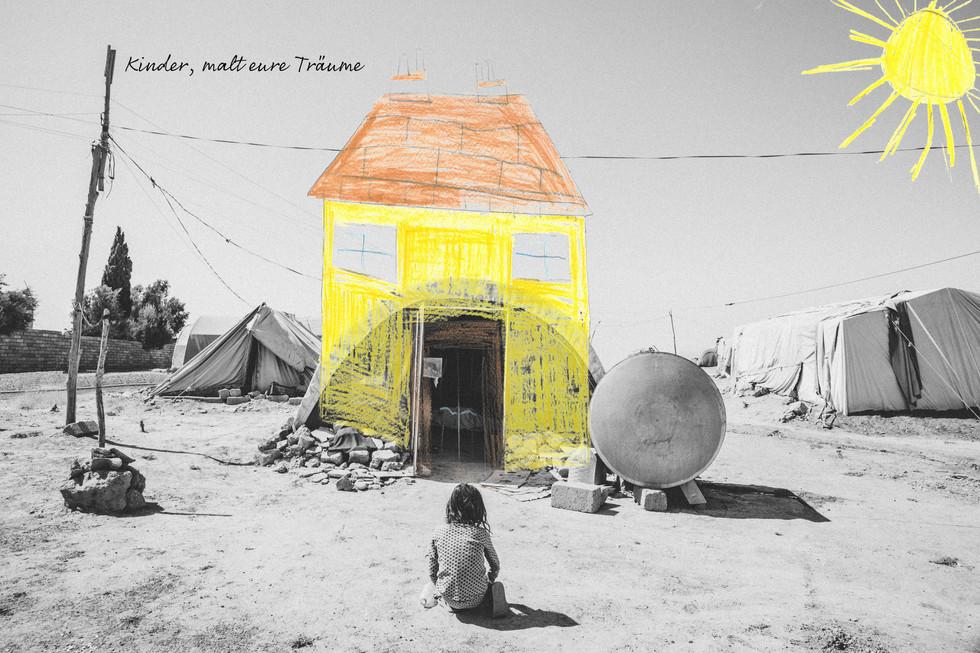 Dihab (6) verlor nicht nur sein Haus, sondern auch alle die darin lebten.