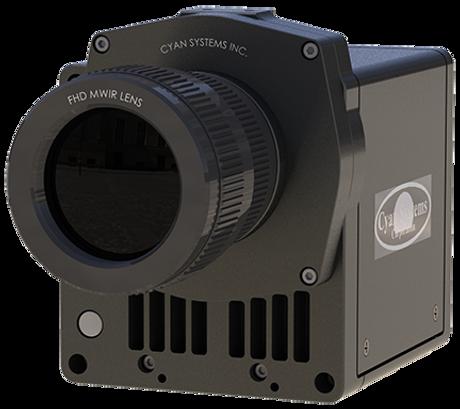 5 micron pitch MWIR HD Camera