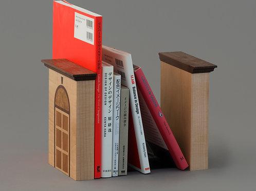 木製ブックエンド(プロバンス・インレイ)