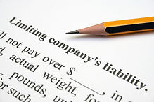 Limiting Liability contract and pencil