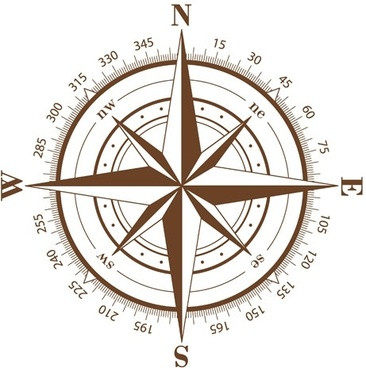 a compass rose
