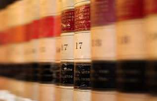close up of book spines on a shelf