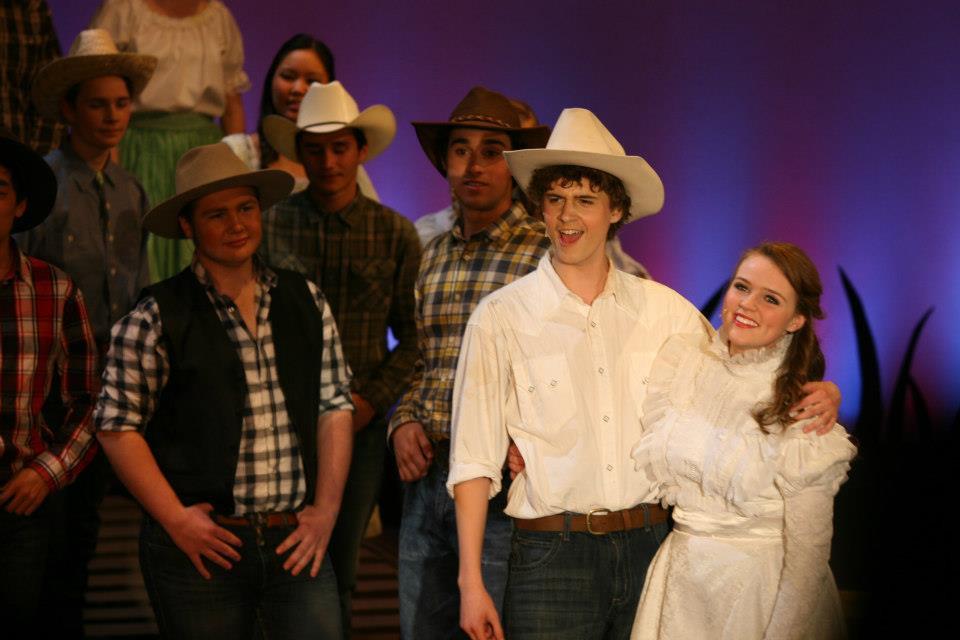 "As Laurey Williams in ""Oklahoma!"""