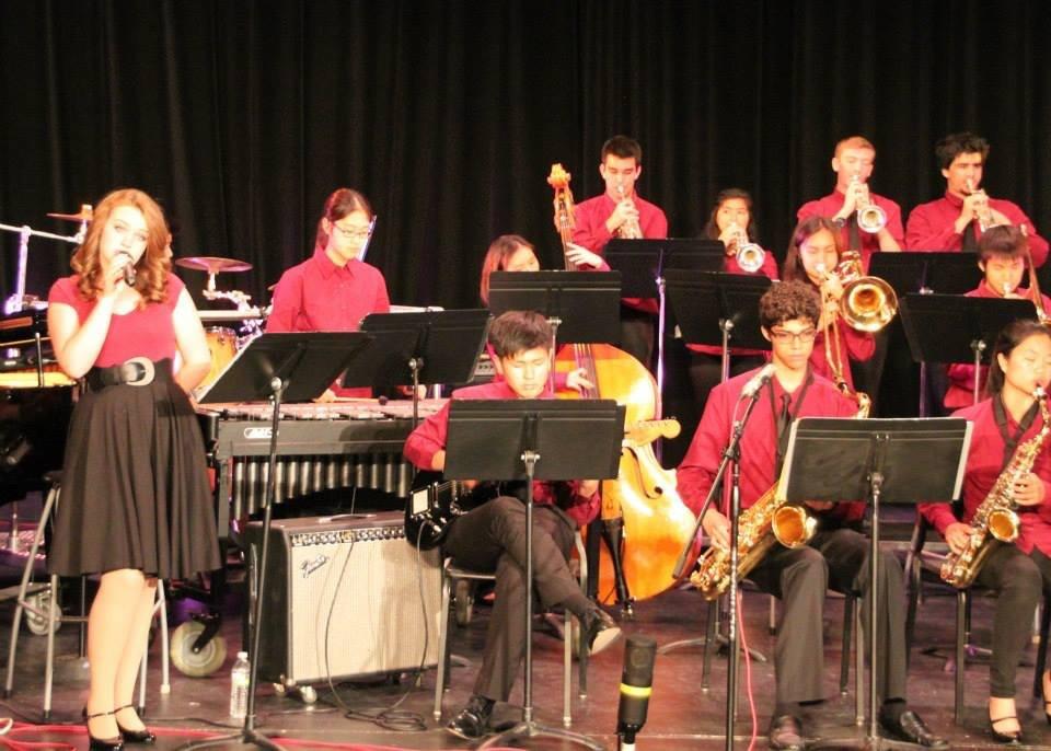 Jazz Vocalist with the Woodbridge Advanced Jazz Band