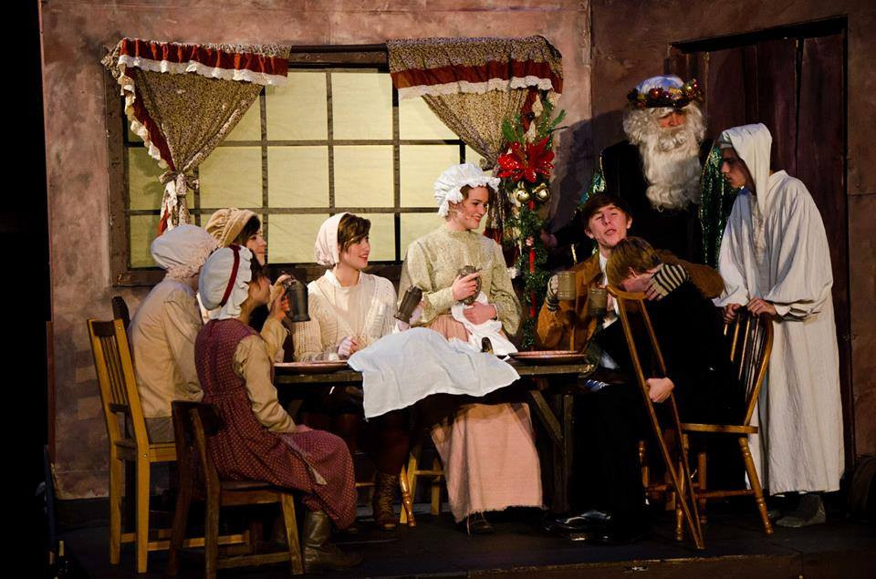 """As Mrs. Cratchit in """"A Christmas Carol"""""""