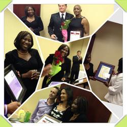 Evangelist being honored