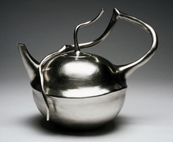Walnut Teapot