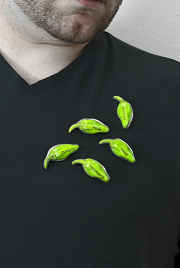 Peppers, Seedpod Series