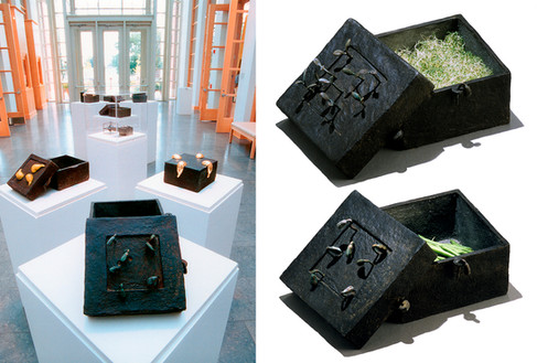 Mi-Sook Hur: Secret Gardens, John Michael Kohler Arts Center,  Sheboygan, WI