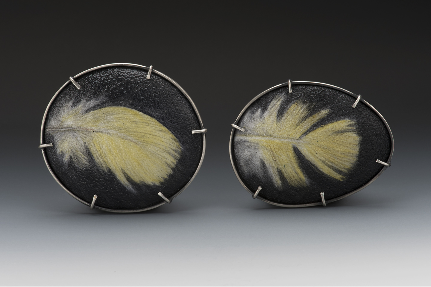 Feather, Yellow 1 and 2