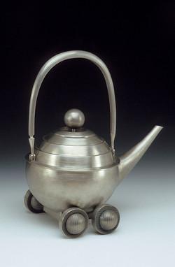 Wheeled Teapot