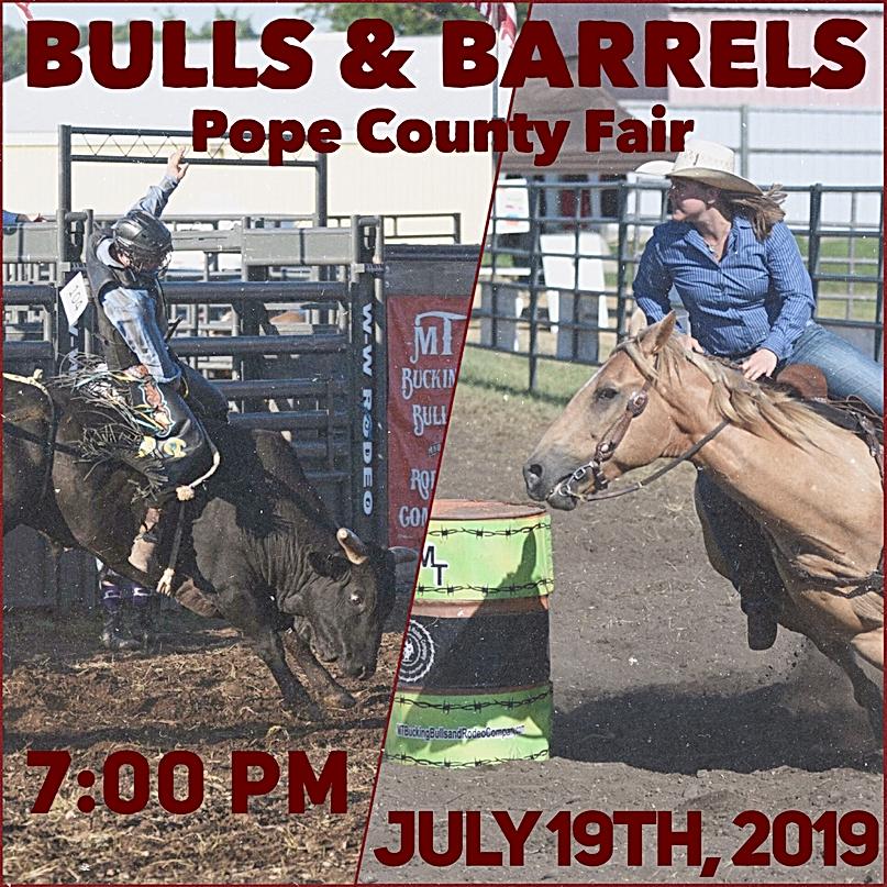 MT Bulls & Barrels Pope Co Fair