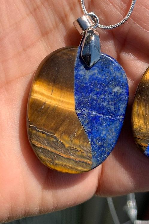 lapis-lazuli et œil de tigre