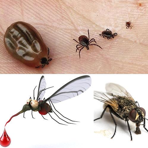 répulsif insectes tiques mouches moustiques