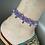 Thumbnail: bracelet cheville réglable infini