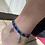 Thumbnail: bracelet cheville bicolore