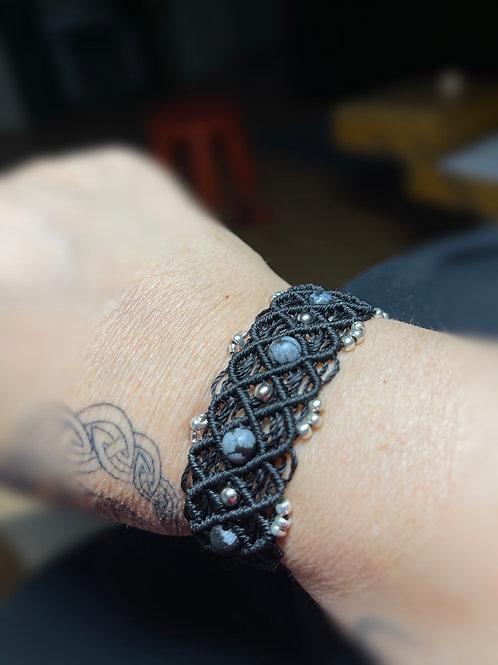 bracelet infini réglable