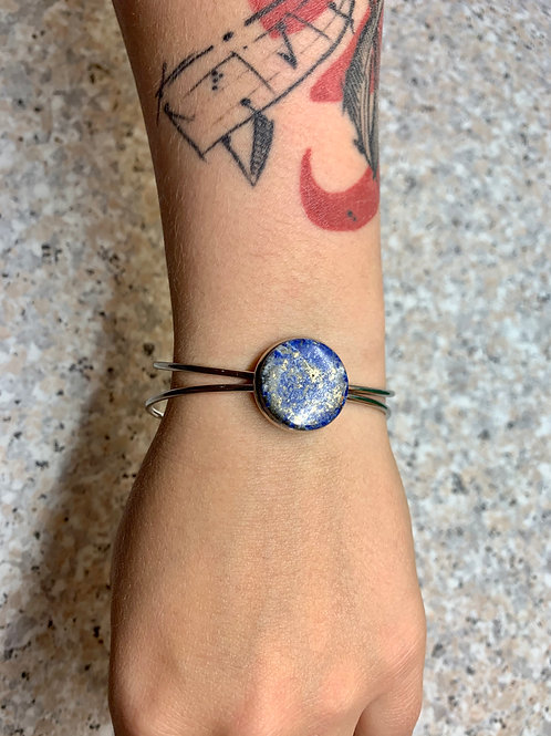 Bracelets en lapis-lazuli