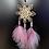 Thumbnail: angélite et kunzite avec fleur de vie