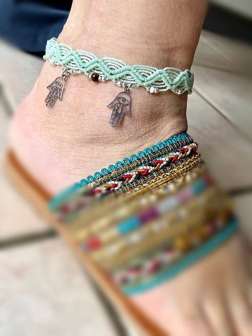 bracelet cheville main fatima