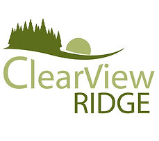 Clearview Ridge logo for the Clearview Ridge neighbourhood in Red Deer, Alberta, Canada