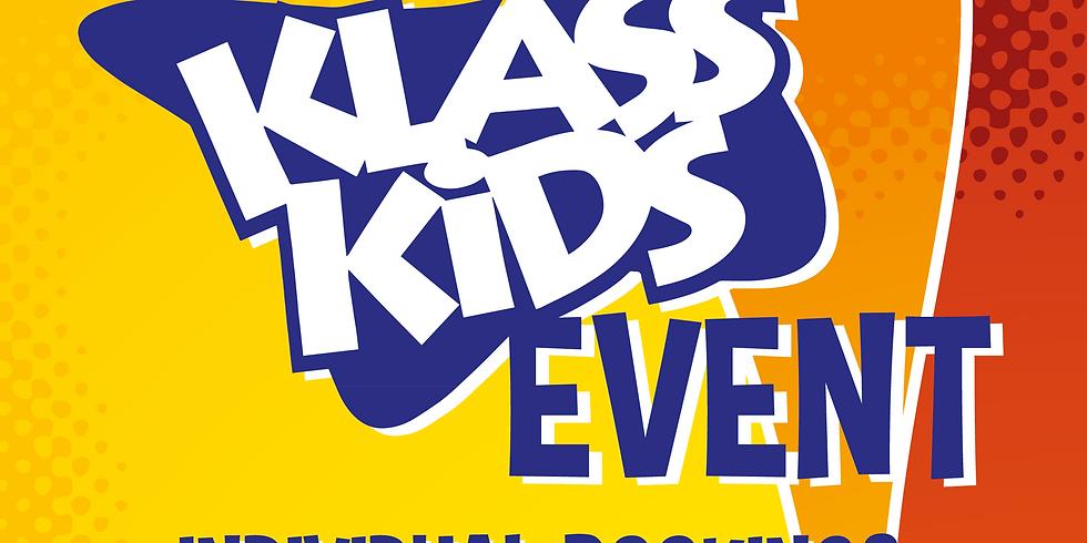 Klass Kids Event Individual Bookings