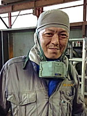 ㈫山田秀三 41歳 玉掛技能 クレーン運転 JIS半自動溶接SA-3F アーク溶