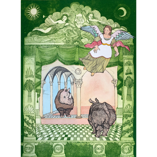 Annunciation To The Rhino