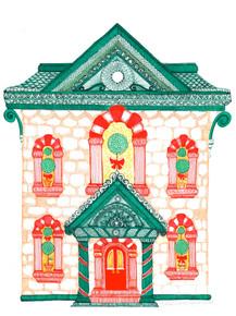 Christmas House Exterior