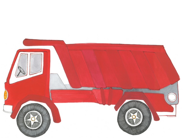 Big Red Dump Truck