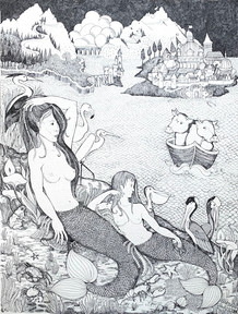 Mermaids and Cows