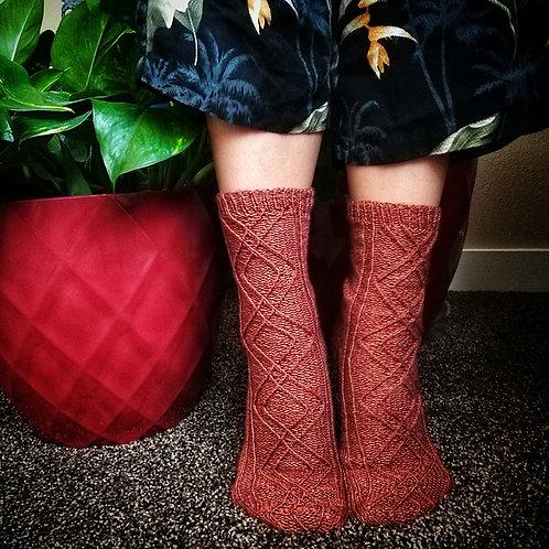 Huldufolk Socks - Knitting Pattern