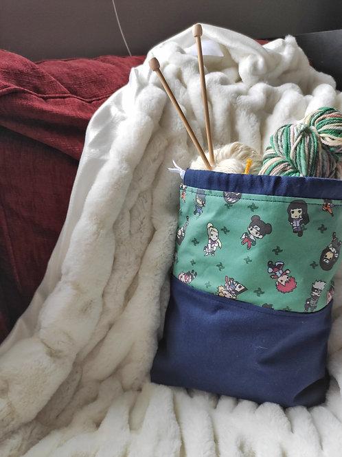 Little Shinobi Project Bag