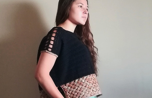 Masina Crocheted Top